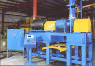 COMMINGLED PLASTICS RECYCLING AND MOLDING - TC-350 COMPOUNDER