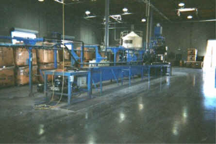 COMMINGLED WASTE PLASTIC COMPOUNDING AND MOLDING LINE
